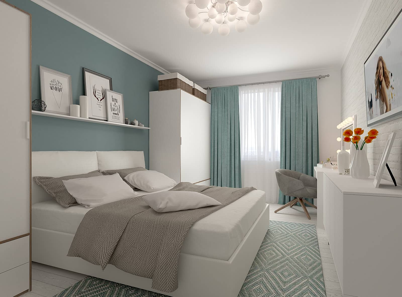 Дизайн спальні: фото 1