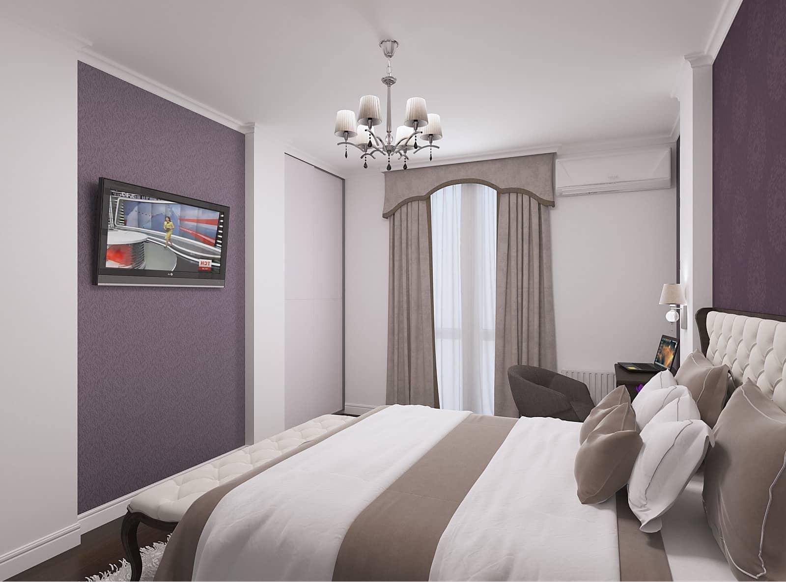 Дизайн спальні: фото 3.1