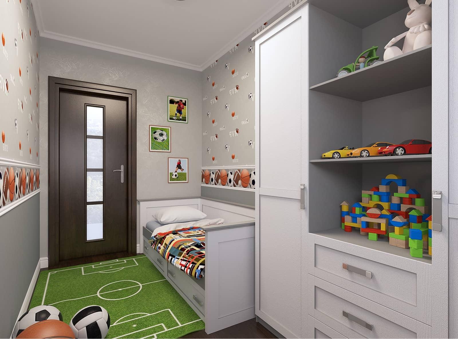 Дизайн кімнати для хлопчика: фото 2