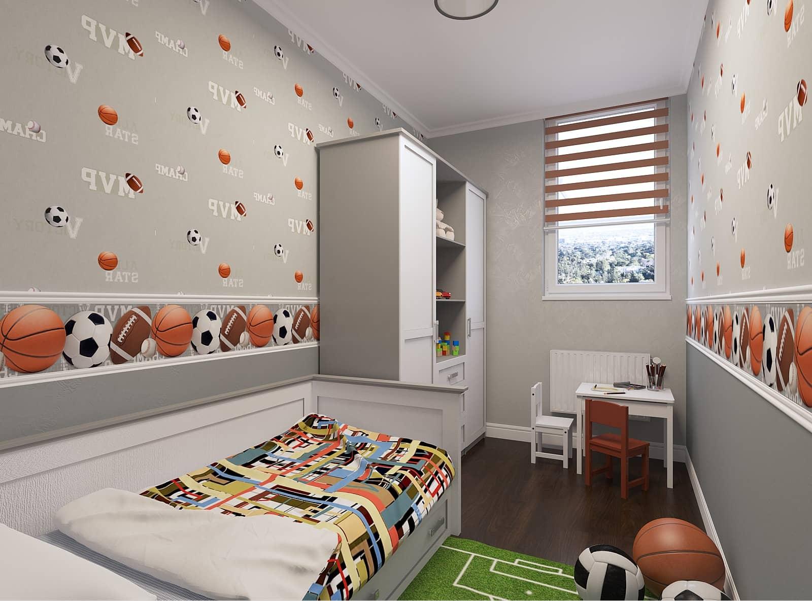 Дизайн дитячої: кімнати фото 1