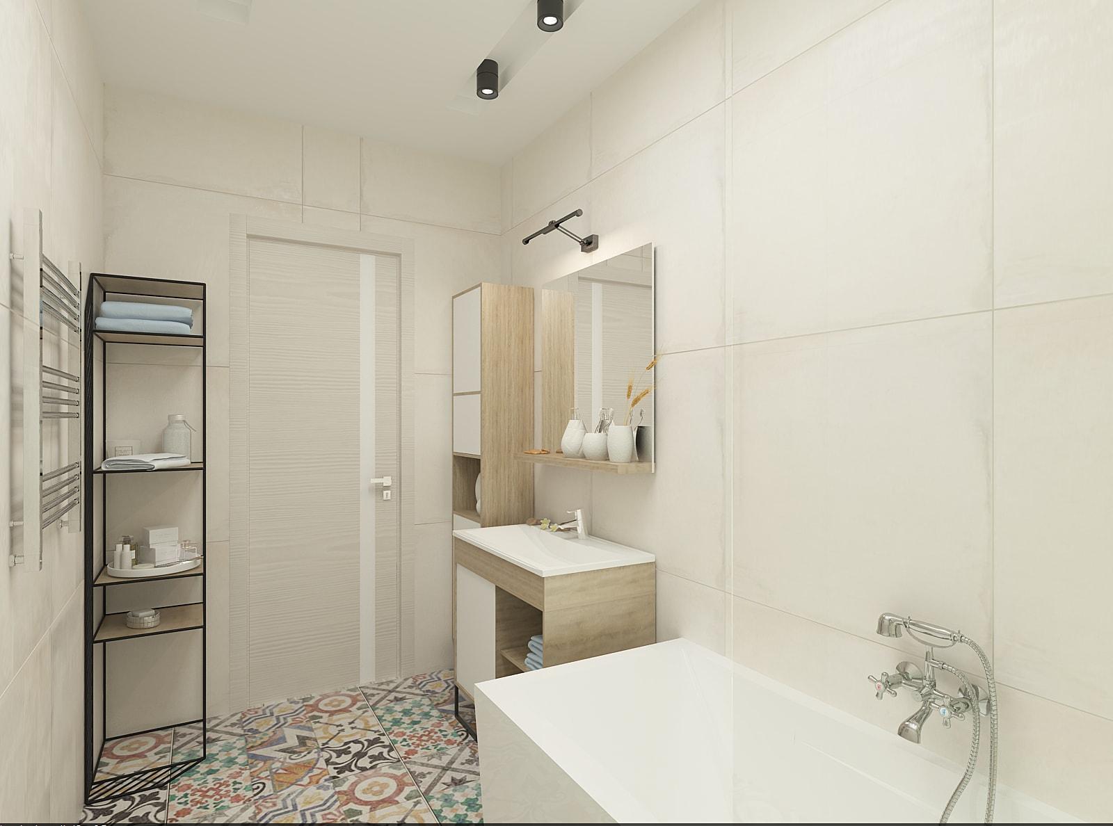 Дизайн ванної кімнати: фото 2.2