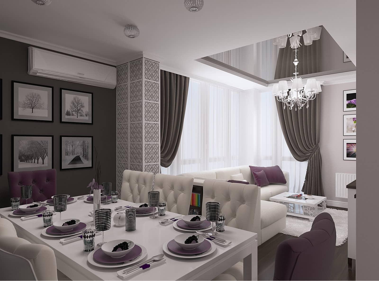 Дизайн квартири: 3д-візуалізація 3