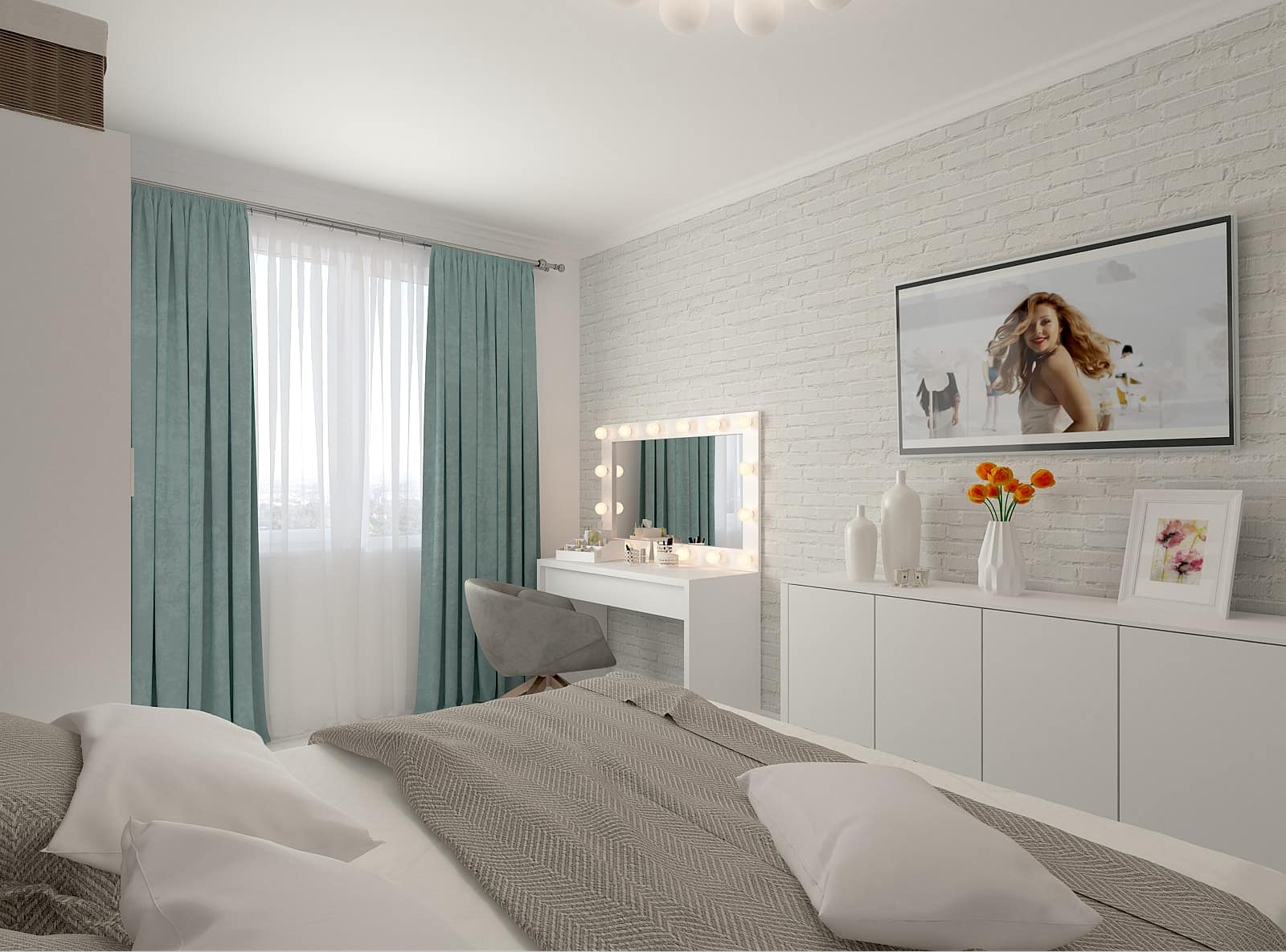 Дизайн спальні: фото 3