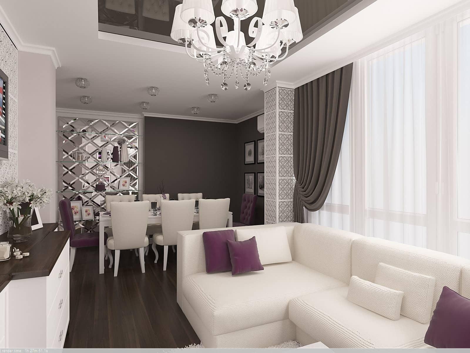 Дизайн квартири: 3д-візуалізація 1