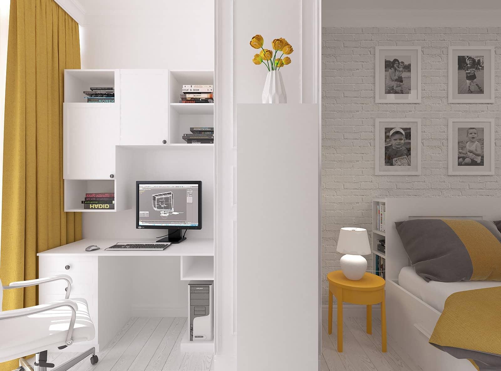 Дизайн спальні: фото 6.1