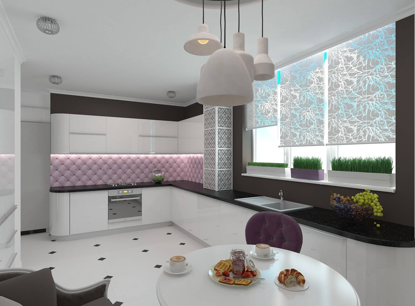 Дизайн кухні-студії: фото 2