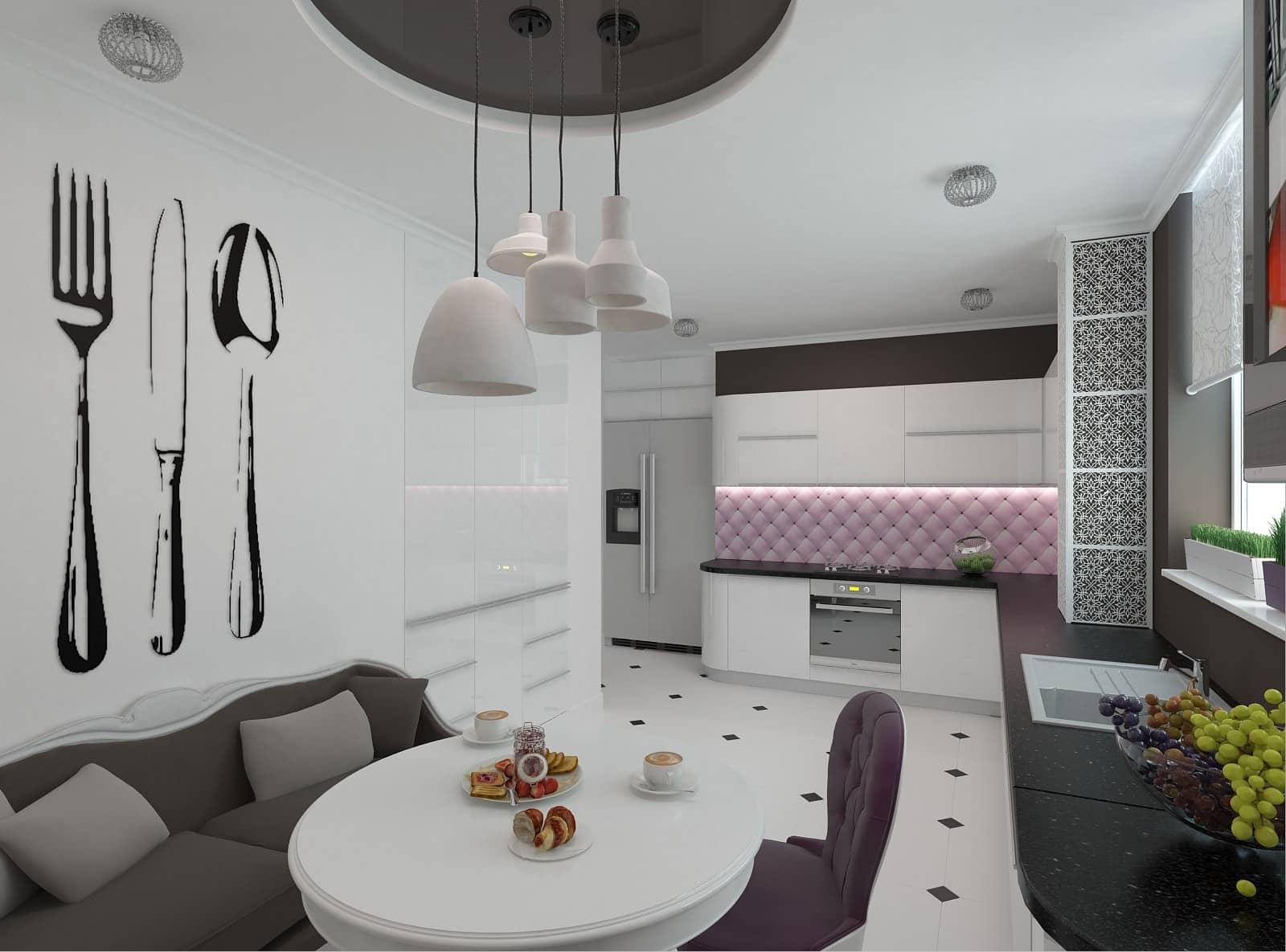 Дизайн кухні-студії: фото 1