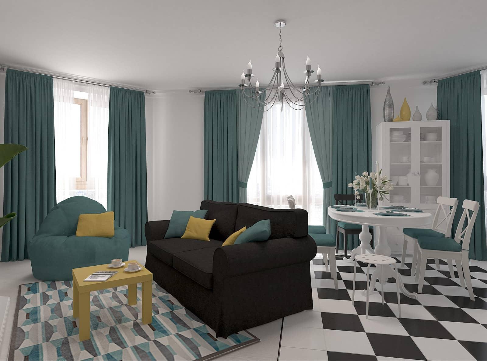 Дизайн вітальні: фото 3