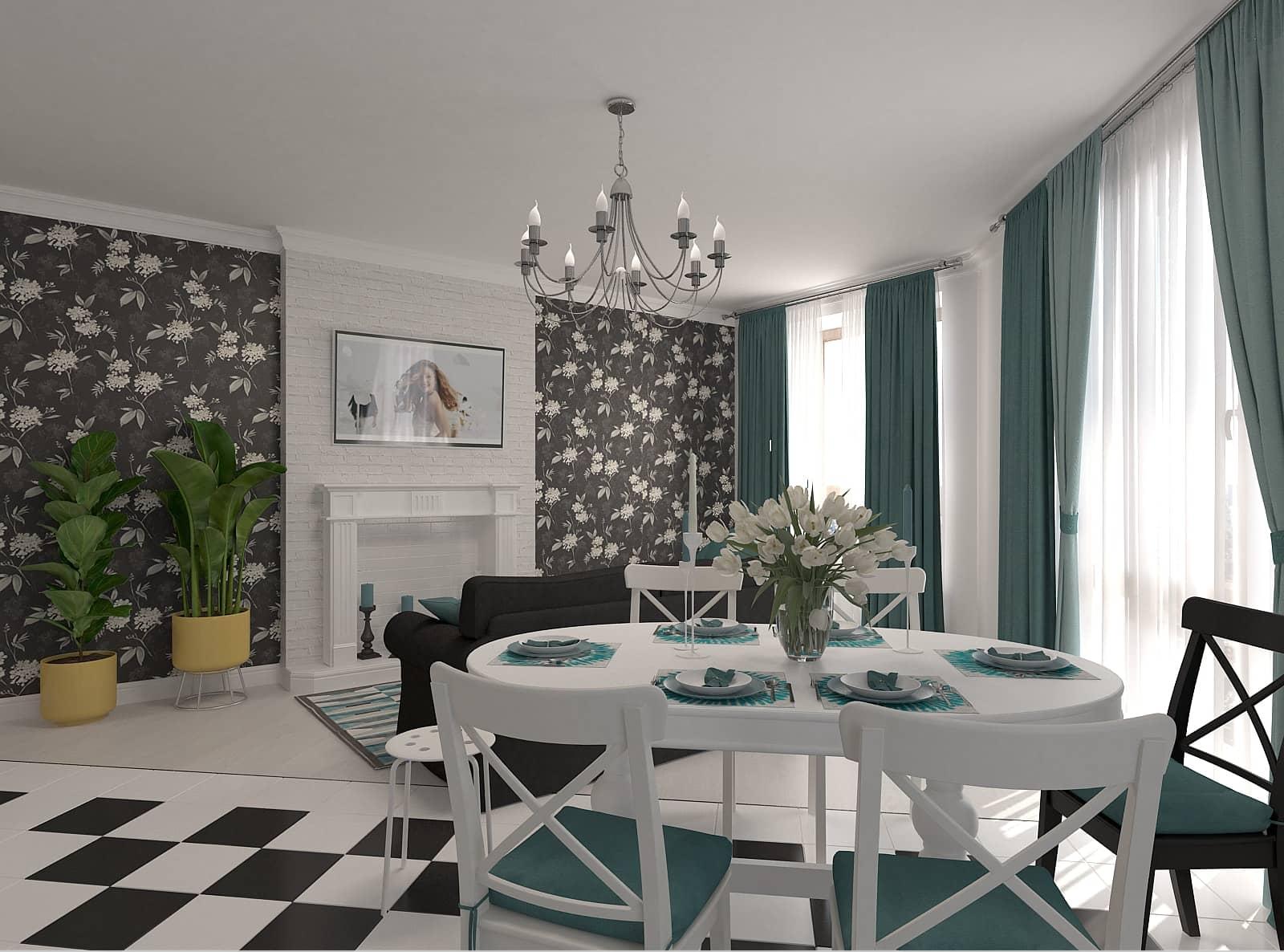 Дизайн вітальні: фото 2