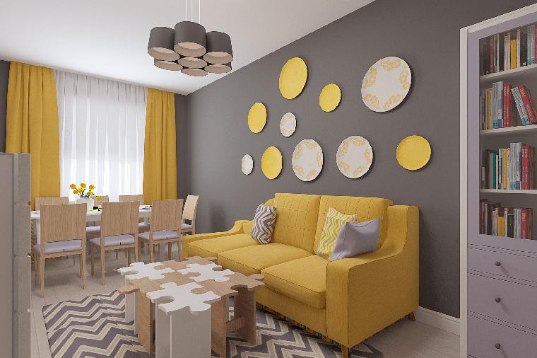 Дизайн вітальні: фото дизайн-студії